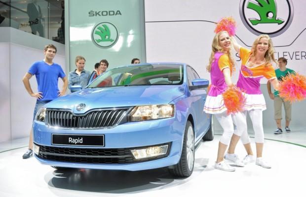 Paris 2012: Škoda Rapid ab 13 990 Euro zu haben