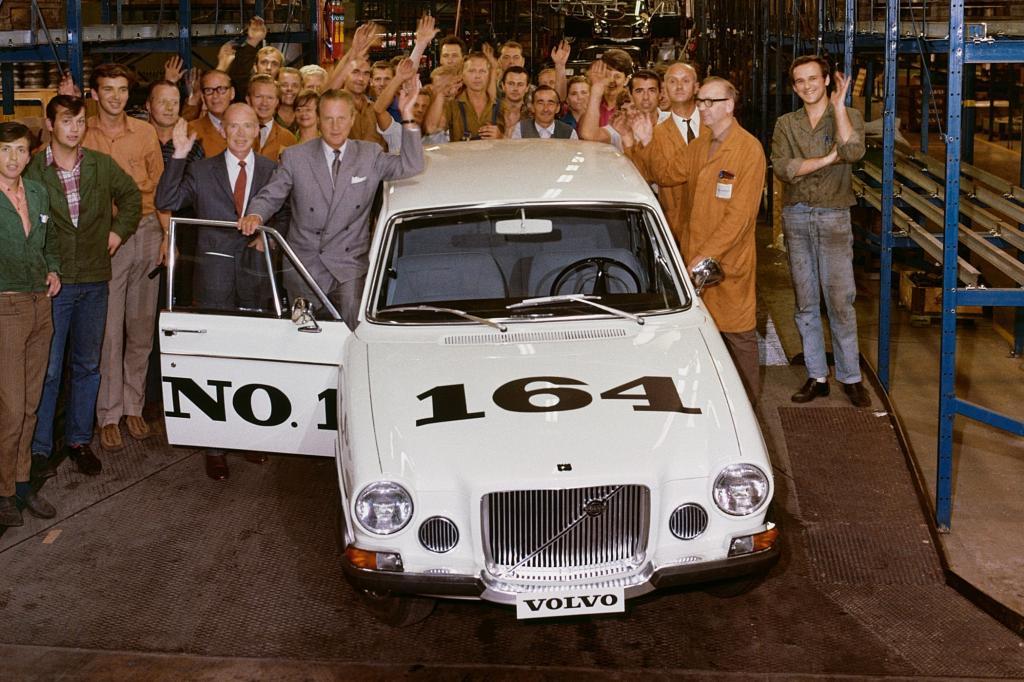Platz 14: Volvo 164 Jahr 1968