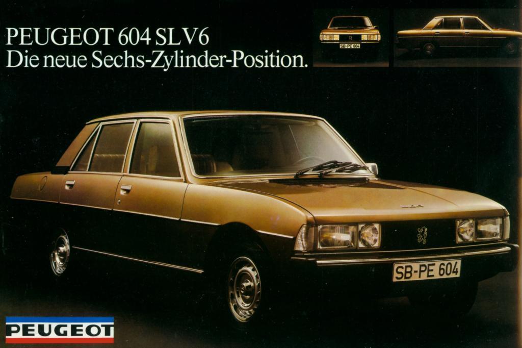 Platz 16: Peugeot 604 Jahr 1975
