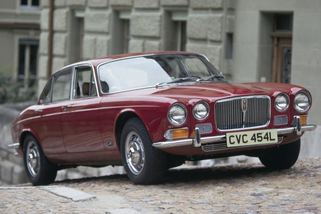 Platz 3: Jaguar XJ 1968