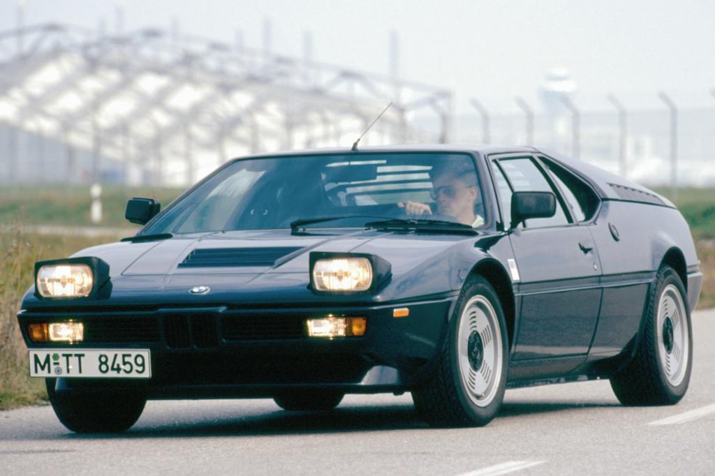 Platz 6: BMW M1 Jahr 1978