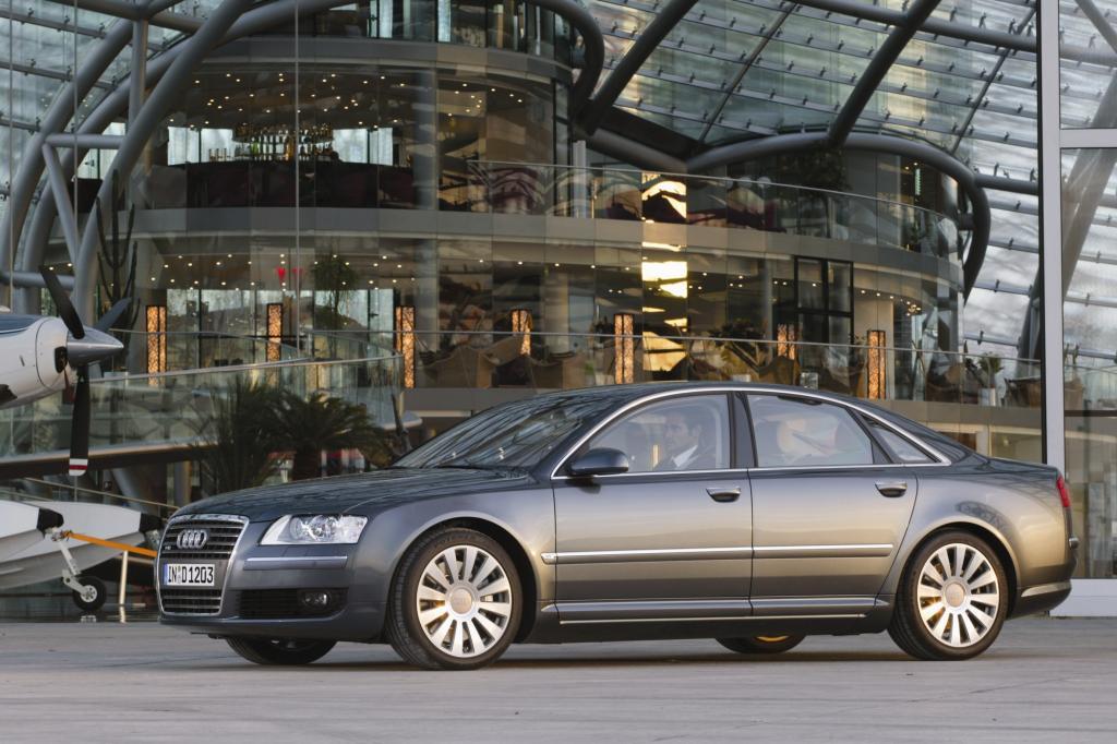 Platz 8: Audi A8 Jahr 2002