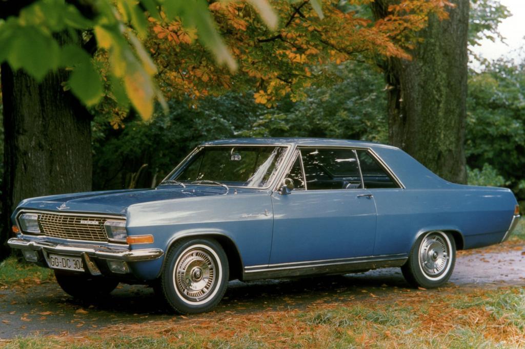 Platz 9: Opel Diplomat V8 Coupe 1964