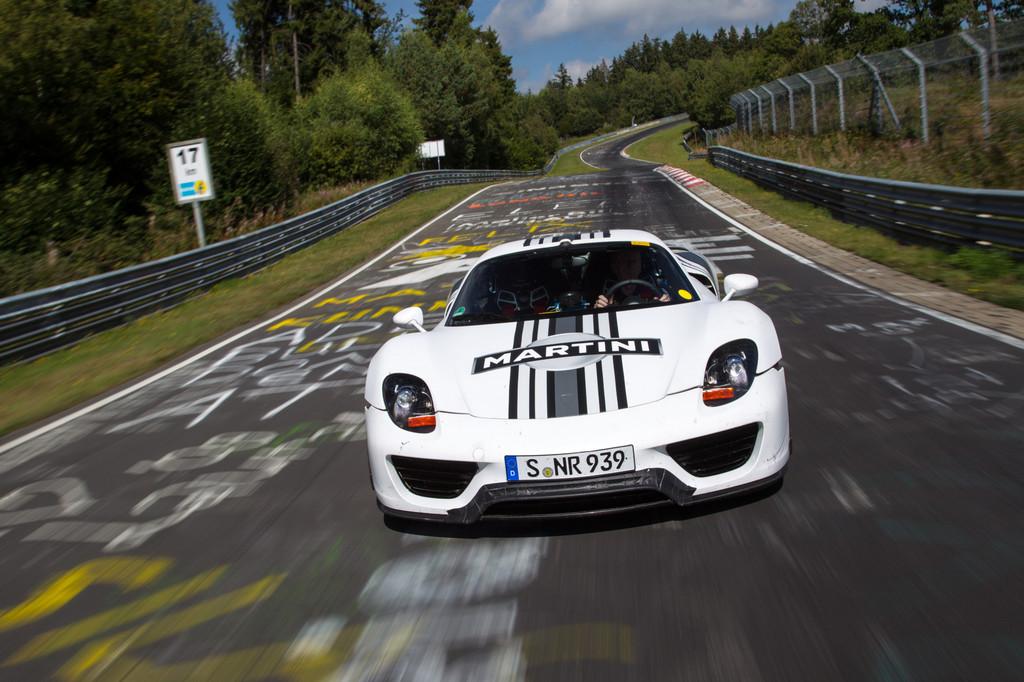 Porsche 918 Spyder auf der Nordschleife: Sieben Minuten und 14 Sekunden