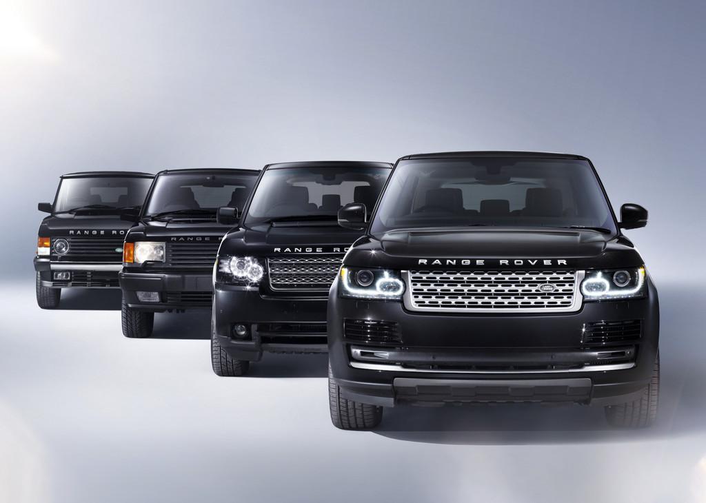 Pressepräsentation Range Rover: Alles neu und doch vertraut