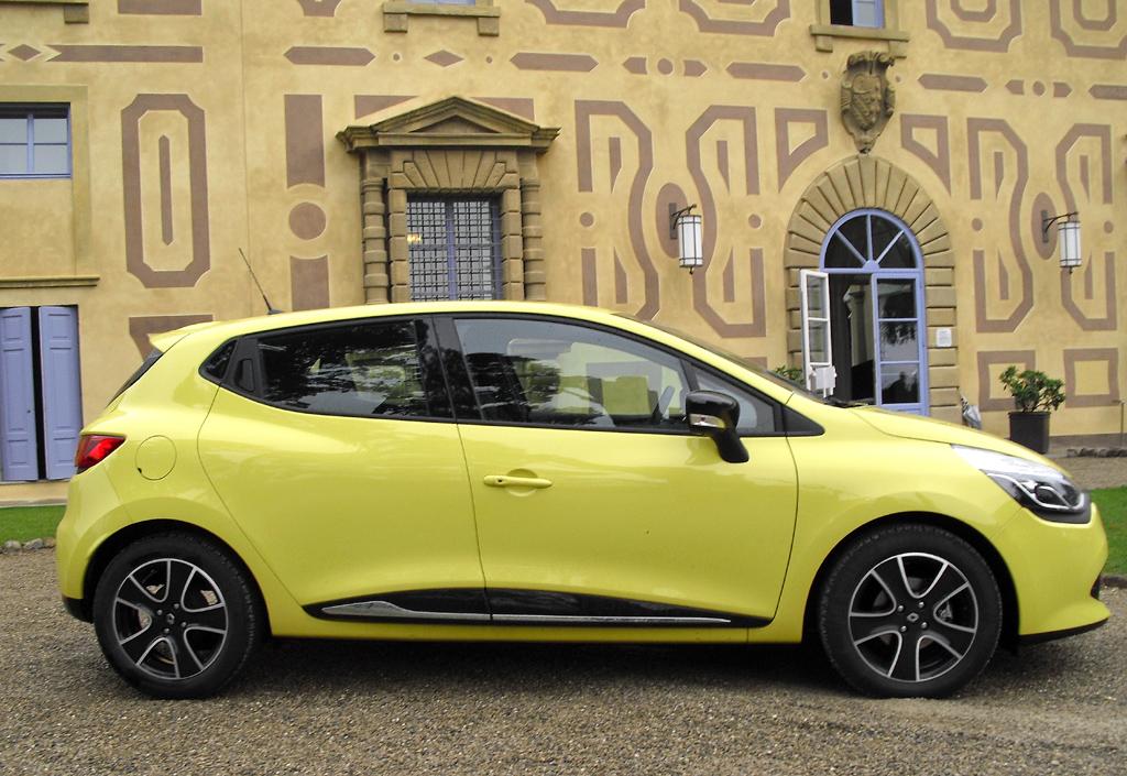 Renault Clio: Und so sieht der Fünftürer von der Seite aus.