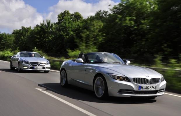 Roadster-Vergleich: Eine Klasse für sich - Mercedes SLK 350 gegen BMW Z4 35i und Mazda MX-5