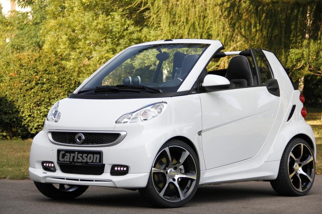 Smart Fortwo Cabrio by Carlsson - Cityflitzer auf Speed