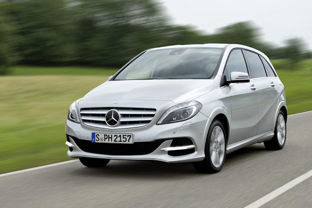 So richtig Gas geben und dabei sparen, das geht ab nächstem Jahr mit dem Mercedes B200 Natural Gas Drive