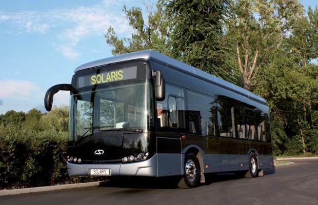 Solaris: Neuer Elektrobus mit Schnelllade-Funktion