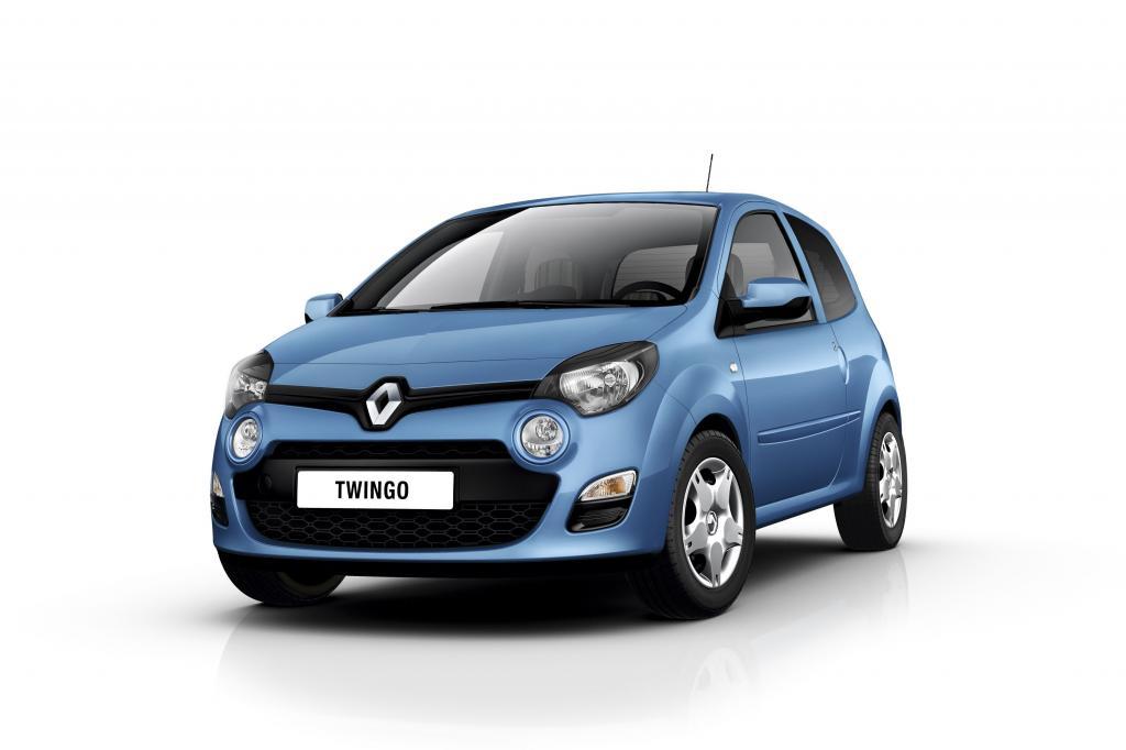 Sondermodell des Renault Twingo mit iPhone