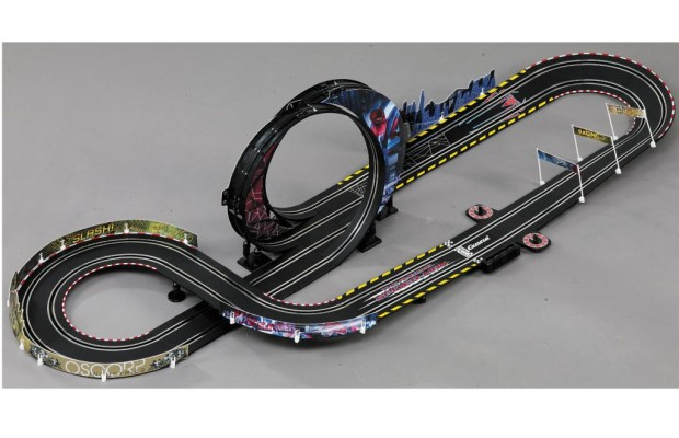 Spinne auf Speed: Die Spiderman-Autorennbahn