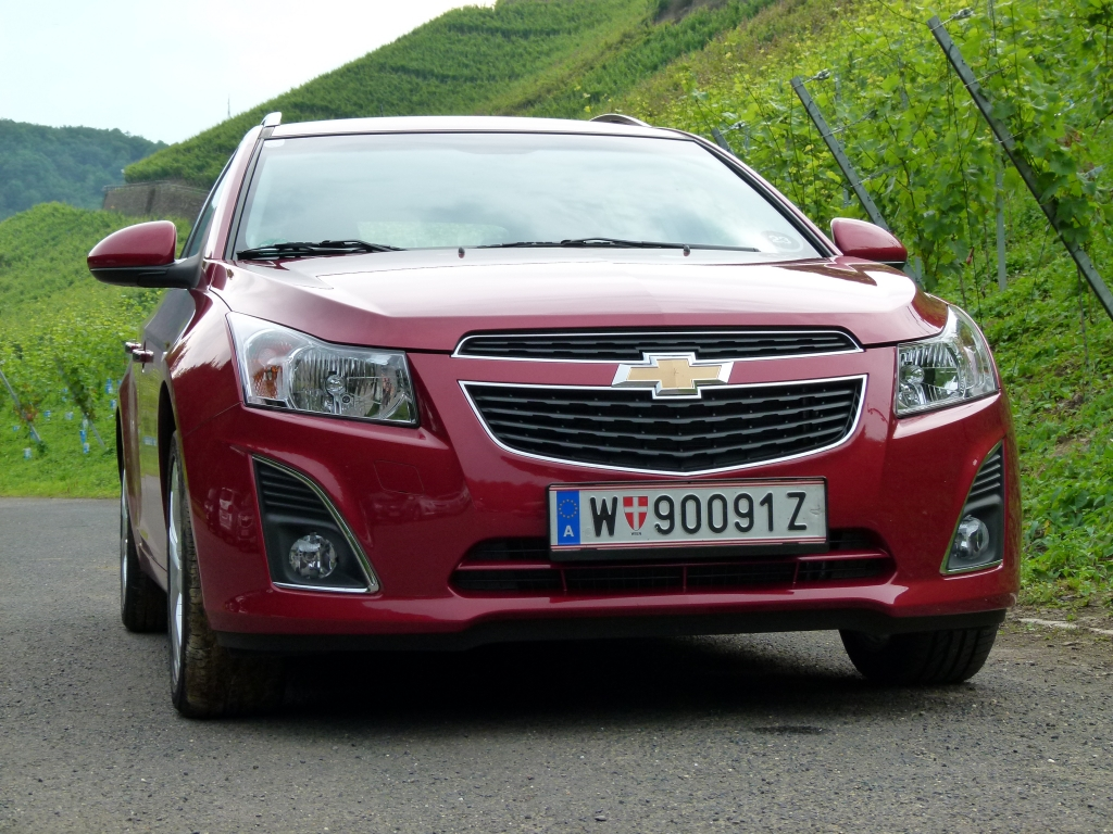 Test Chevrolet Cruze SW - In Form Gebracht