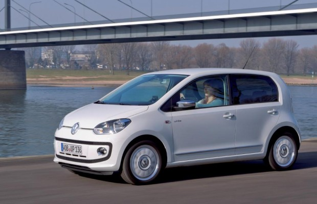 Test: VW Up - Up and down