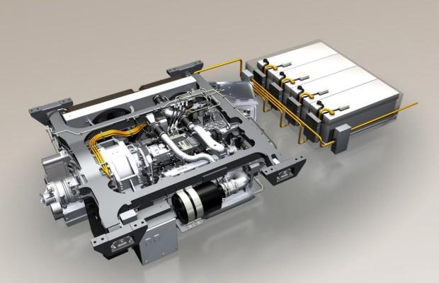 Tognum und Deutsche Bahn mit Pilotprojekt Hybrid-Lok