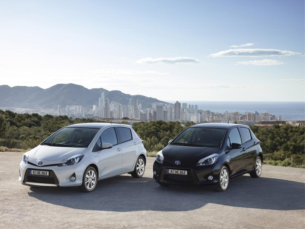 Toyota Yaris Hybrid gewinnt Vergleichstest
