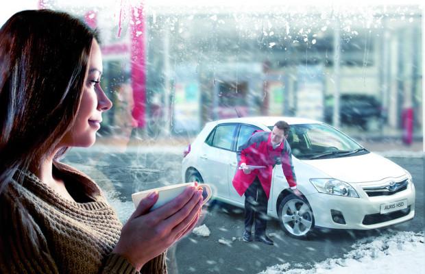 Toyota bietet Winterräder