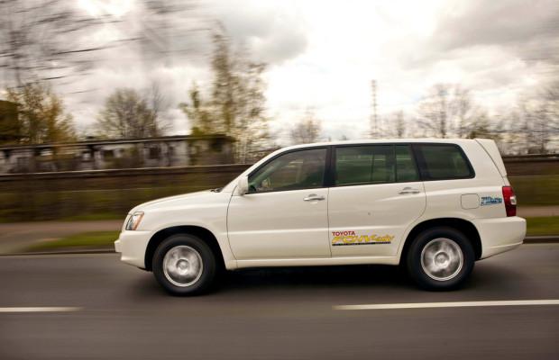 Toyota nimmt an Brennstoffzellen-Tour teil