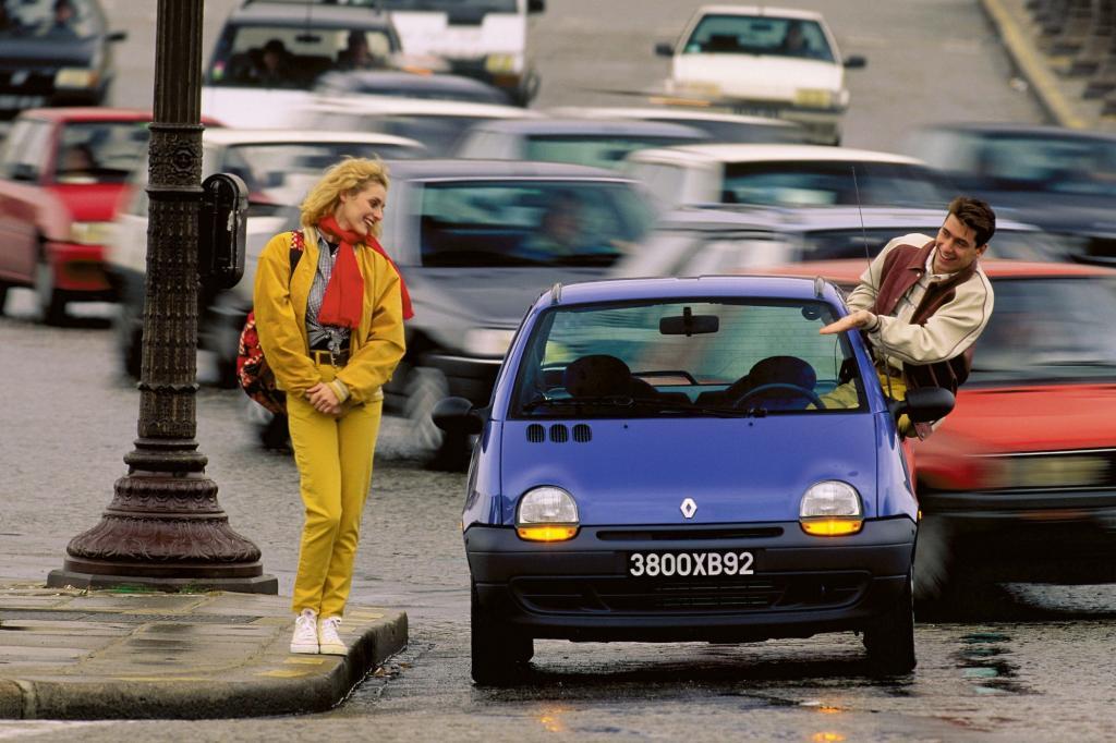 Tradition: 20 Jahre Renault Twingo - Kuscheltier mit Kulleraugen