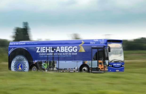 Umrüsten auf Elektro: Omnibusse mit Radnabenantrieb