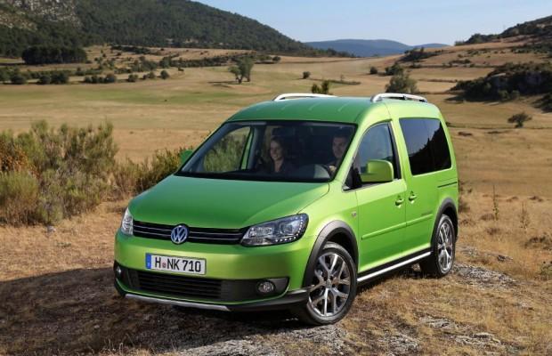 VW Cross Caddy - Mit der Familie ins leichte Gelände