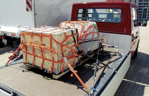 Weniger Unfälle dank besserer Ladungssicherung
