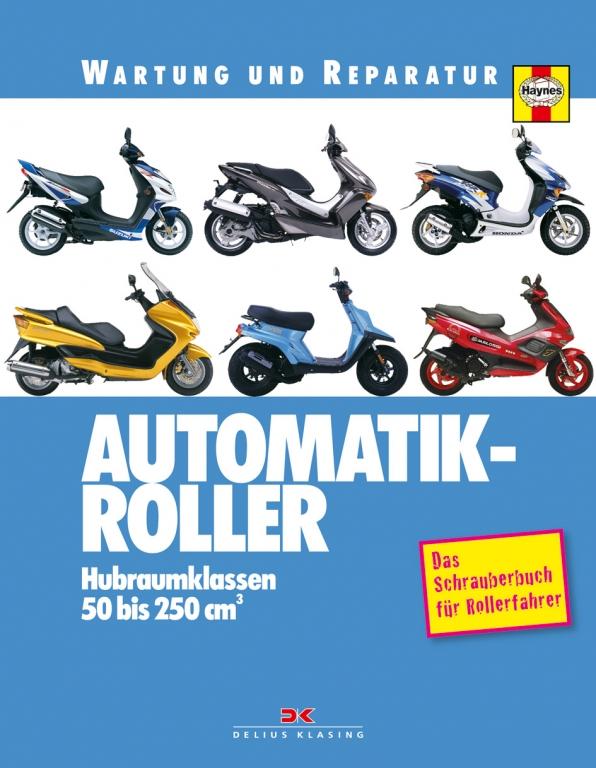 auto.de-Buchtipp: Automatik-Roller – das Schrauberbuch für Rollerfahrer