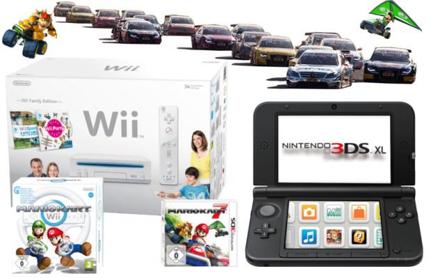 auto.de-Gewinnspiel zum Family & Friends Cup: Tickets fürs DTM-Finale, Nintendo 3DS XL und Nintendo Wii