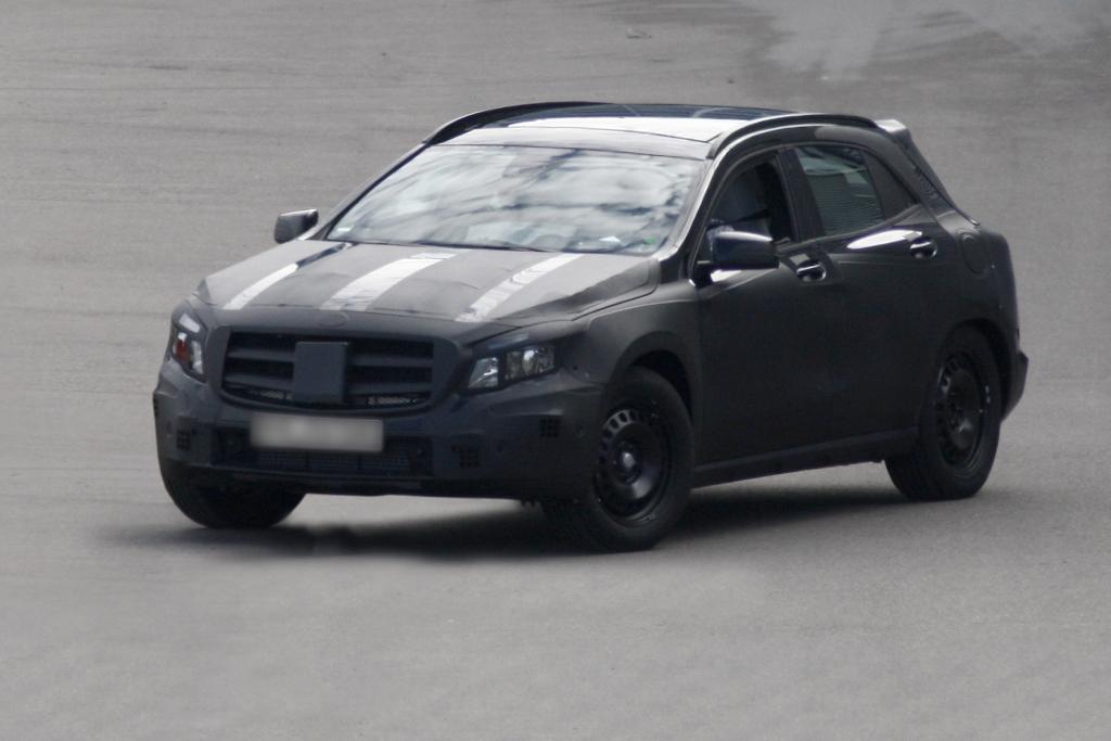 +++UPDATE+++ Erwischt: Mercedes GLA – Die A-Klasse geht hoch