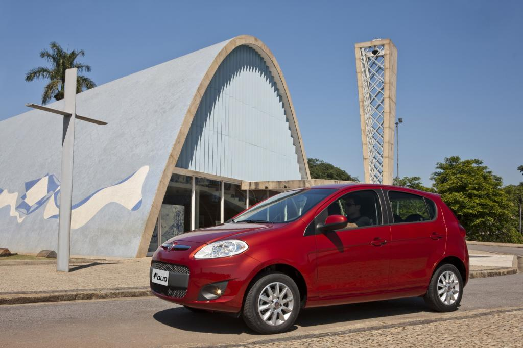 Auf Fiat ist in Brasilien am Start