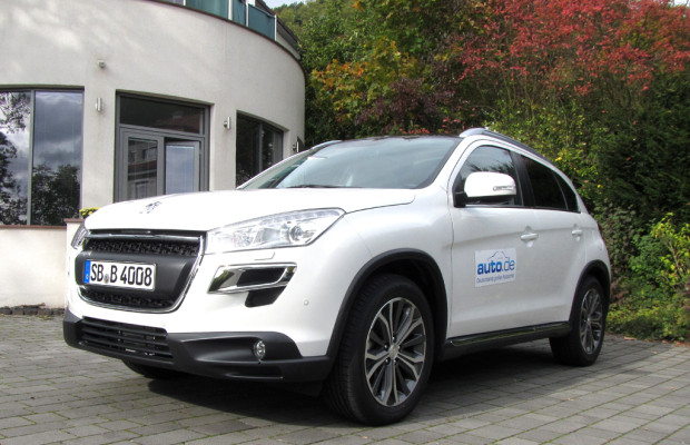 Auto im Alltag: Peugeot 4008