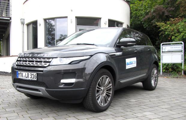 Auto im Alltag: Range Rover Evoque
