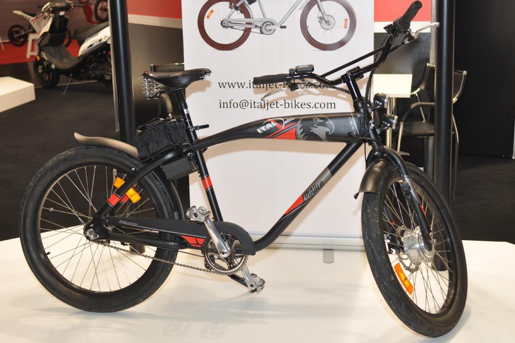 Besonders schick ist das E-Bike von Italjet