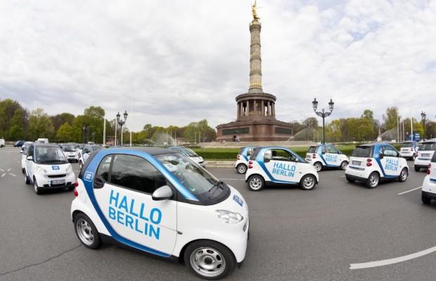 Car2go unterhält 2650 Mietwagen in fünf Städten