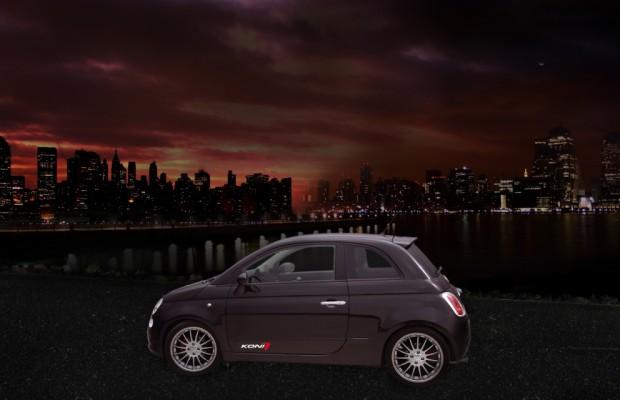 Dank KONI SPORT KIT wird der Fiat 500 1.4 Sport zum Kugelblitz