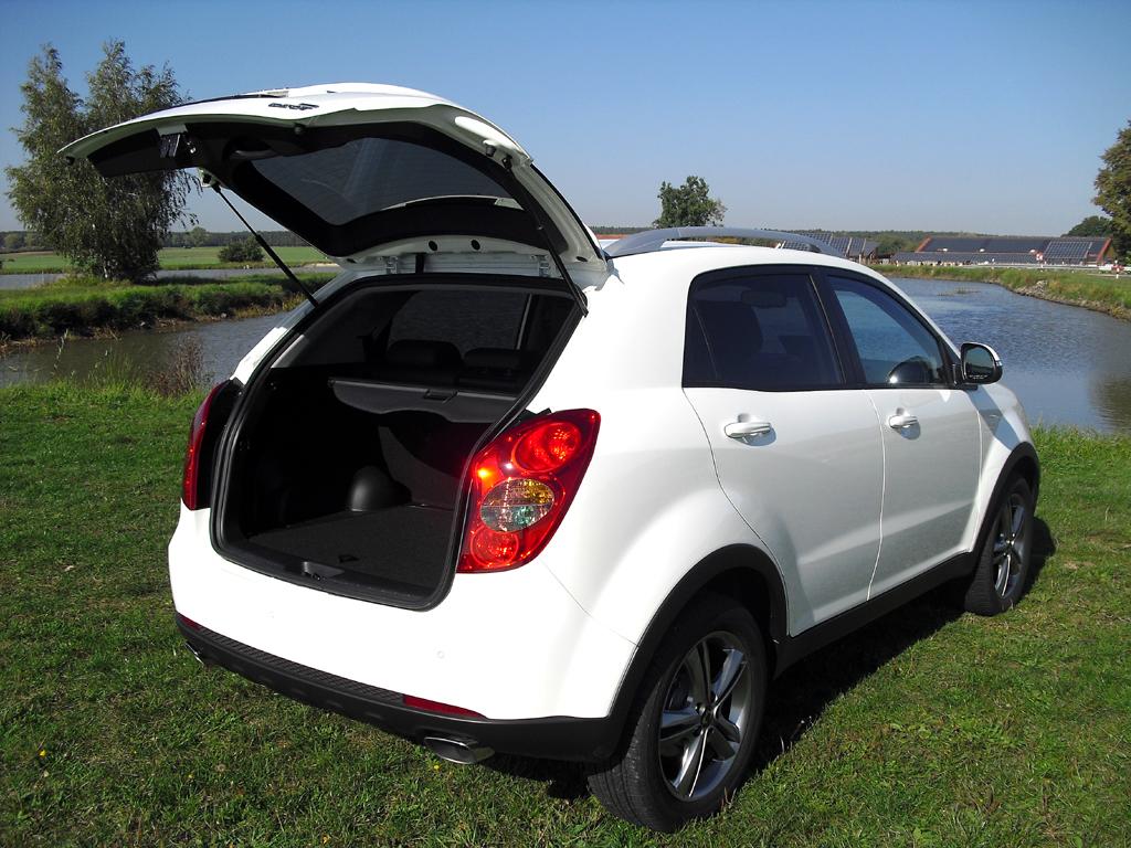 Das Gepäckabteil des Kompakt-SUV fasst 486 bis 1312 Liter bei geklappten Sitzen.