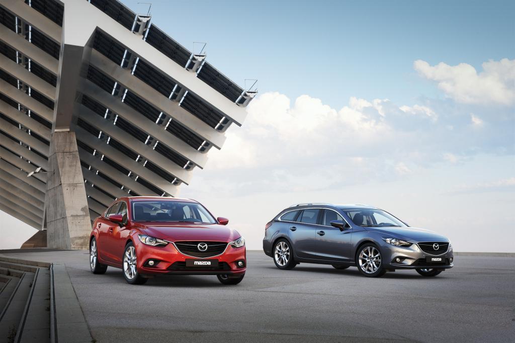 Dass Limousine und Kombi des neuen Mazda6 zum gleichen Preis angeboten werden, ist ein Novum in der Klasse.