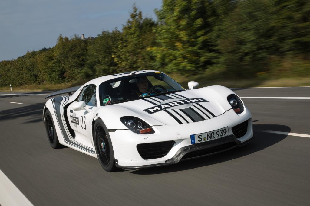 Der Porsche 918 ist das teuerste Serienauto aus deutscher Produktion