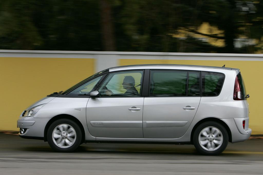 Der Renault bietet vor allem eins: viel Raum