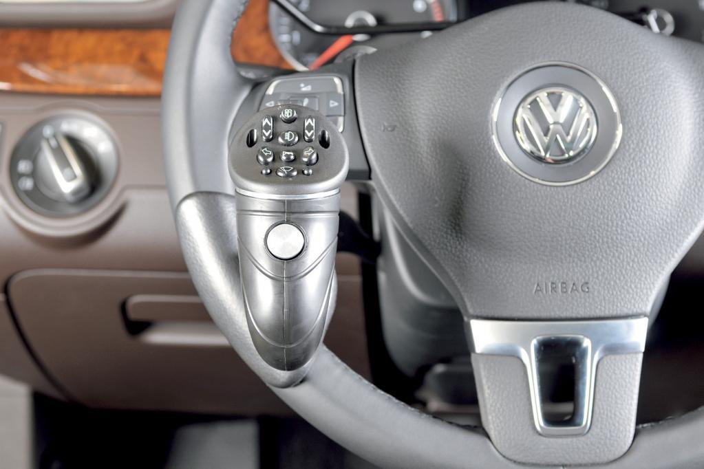 Der neue VW Golf für Menschen mit Handicap