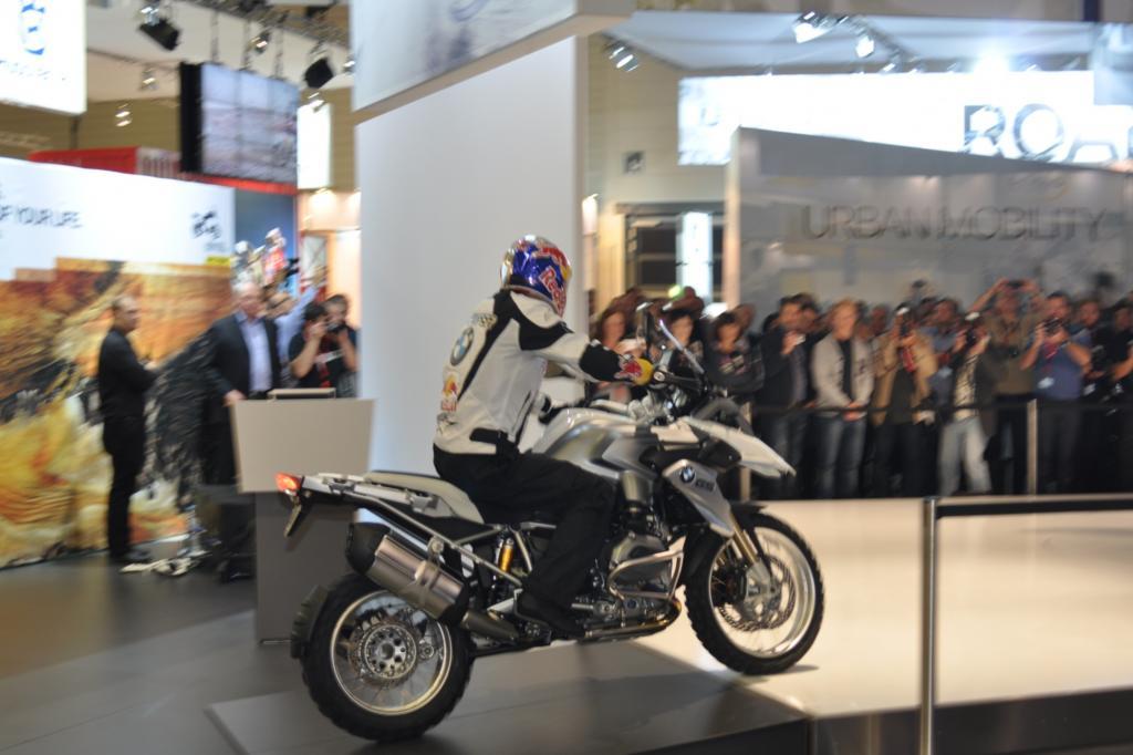 Die BMW R 1200 GS ist die wohl wichtigste Premiere auf der Intermot