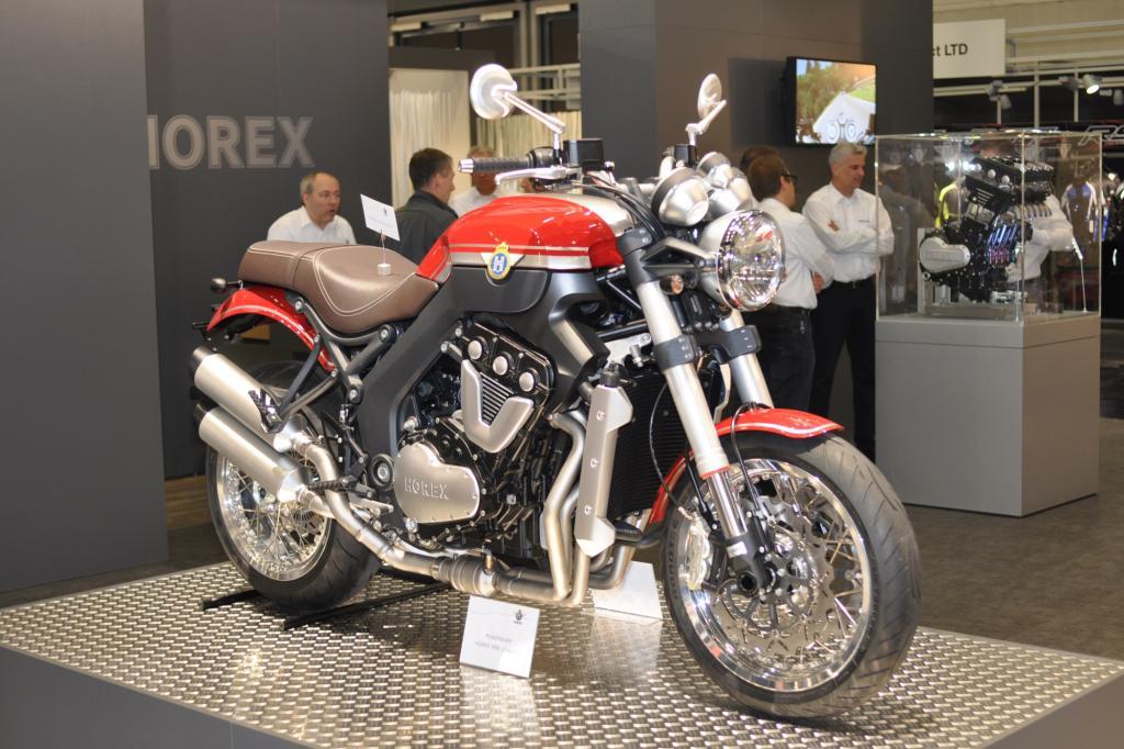 Die edle Horex gibt es zum stolzen Preis von 21.700 Euro