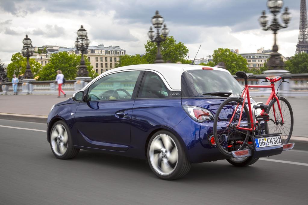 Einfacher geht es nicht - das Fahrradsystem von Opel
