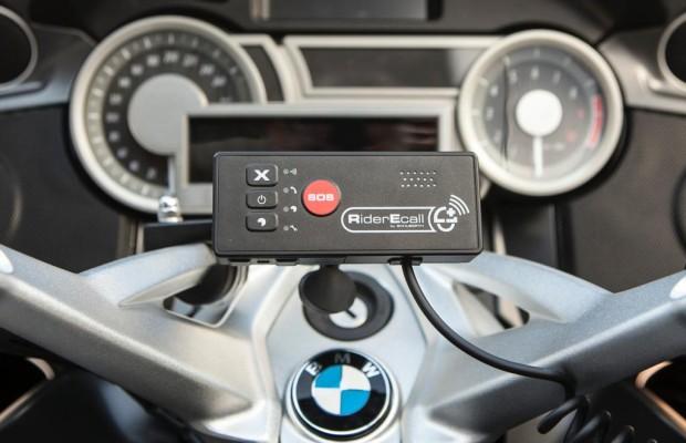 Erstes automatisches Notruf- und Ortungssystem für Motorradfahrer