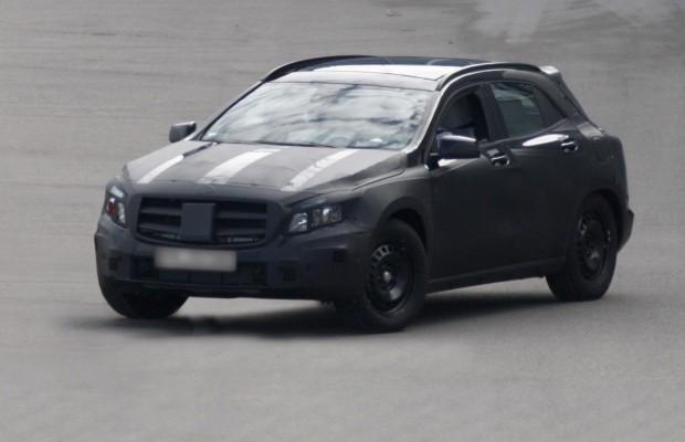 Erwischt: Erlkönig Mercedes GLA – Ein Hoch für die A-Klasse