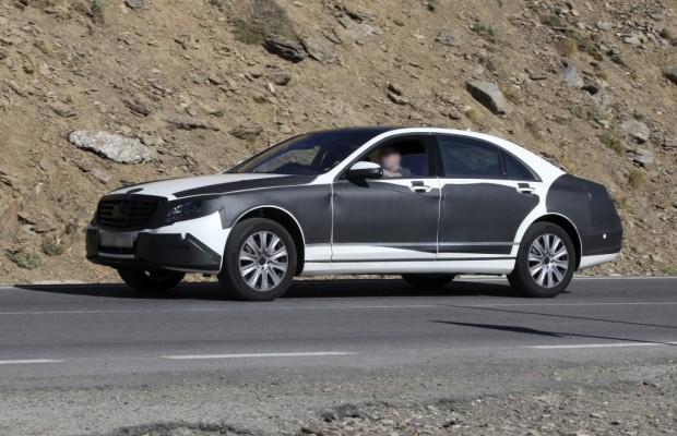 Erwischt: Mercedes S-Klasse – Mercedes' neues Flaggschiff