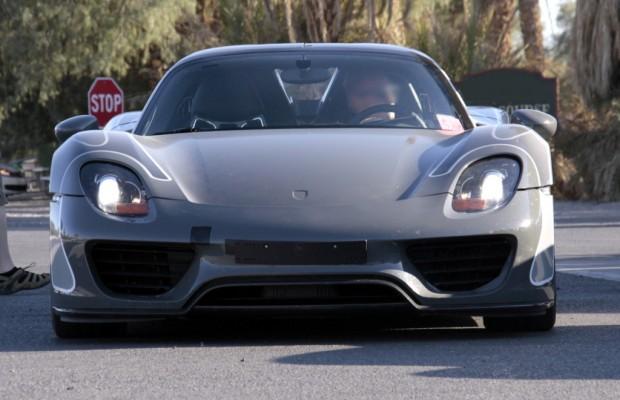 Erwischt: Porsche 918 Spyder – 325 km/h ...