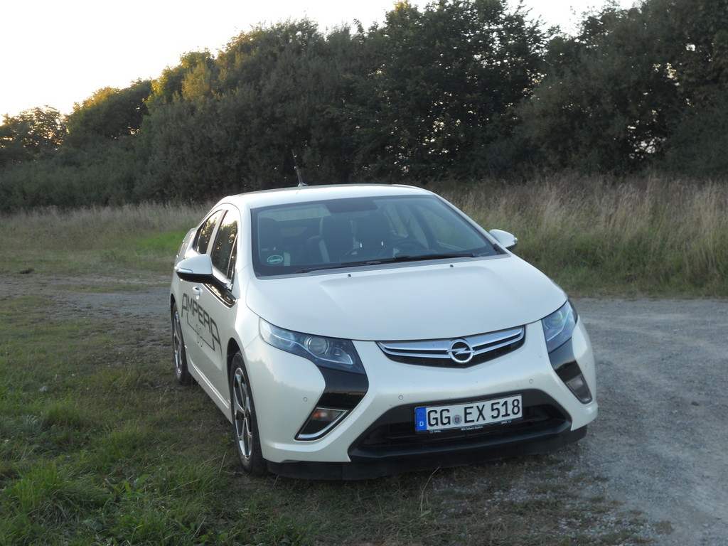 Fahrbericht Opel Ampera: Fahren ohne Steckdosenzwang