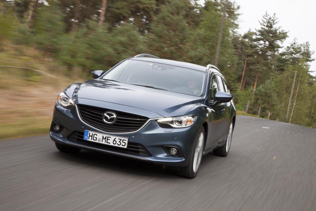 Formal ist der Mazda6 gelungen, vielleicht wurde allenfalls zu viel Betonung auf die wuchtige Motorhaube gelegt, die sich domina