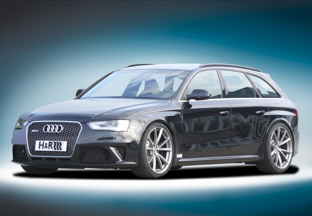 H&R legt Audi RS4 Avant tiefer
